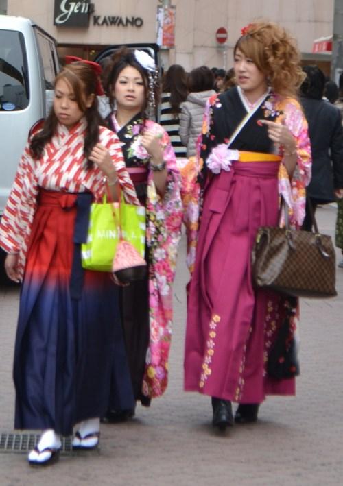 Tokyo fashionistas.