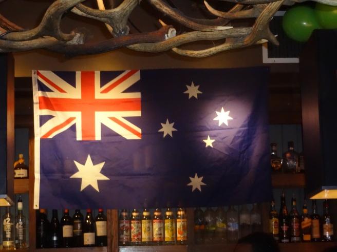 Aussie Day at The Elk.
