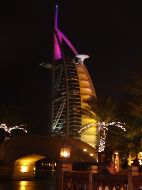 Bur al-Arab by night.