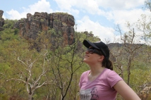 Lauren Novak in Kakadu.