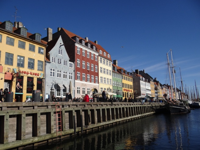 Nyhavn in all its colourful glory.