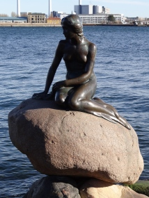 Little Mermaid, Denmark.