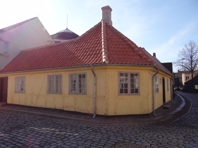 The house that Hans Christian Anderson was born.