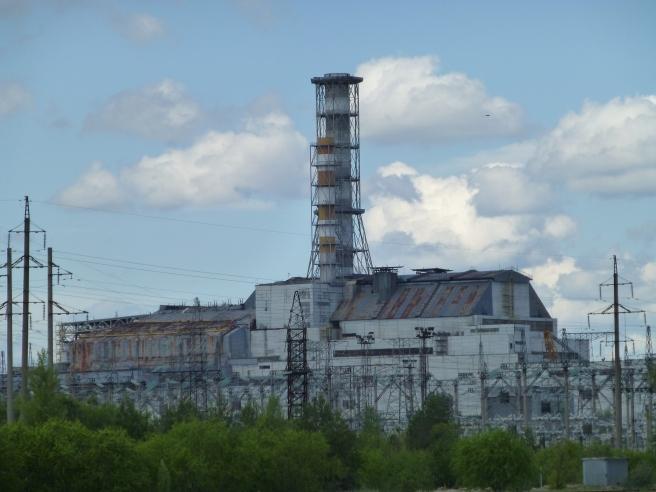 Chernobyl power plant.