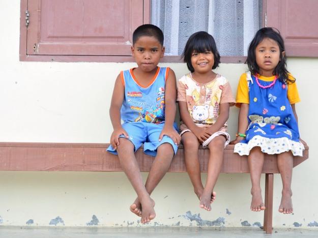 The children of Sumatra.