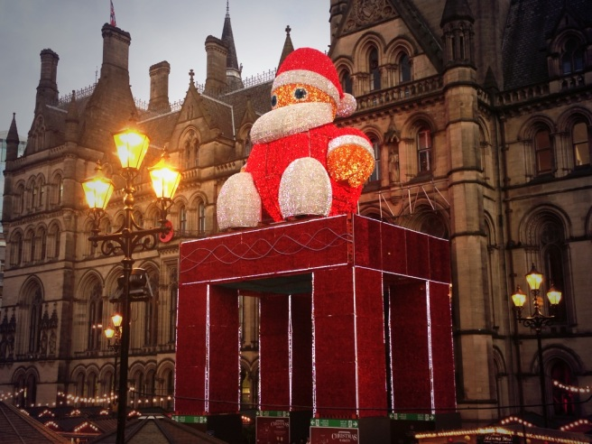 Manchester Christmas Markets celebrate 15 years in 2013.