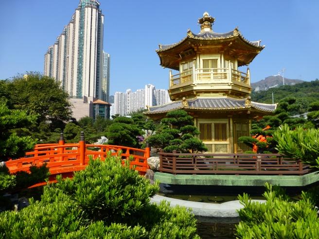 Take a walk on the mild side, Nan Lian Gardens.